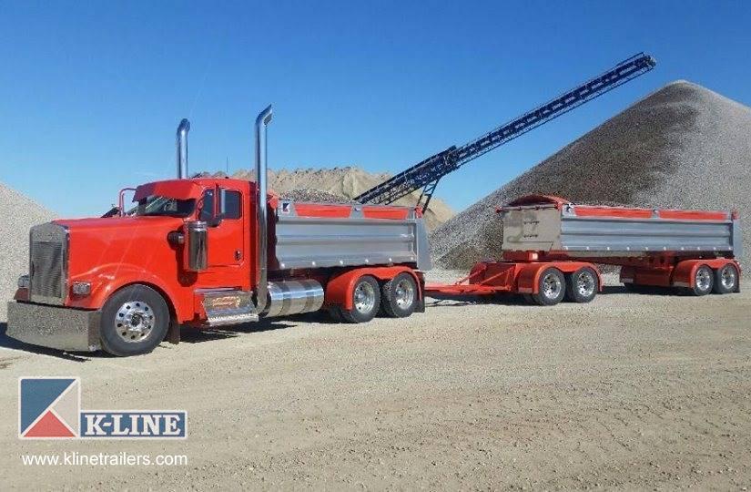 End Dump Truck >> End Dump Trailers K Line Trailers Design Manufacturing Bc