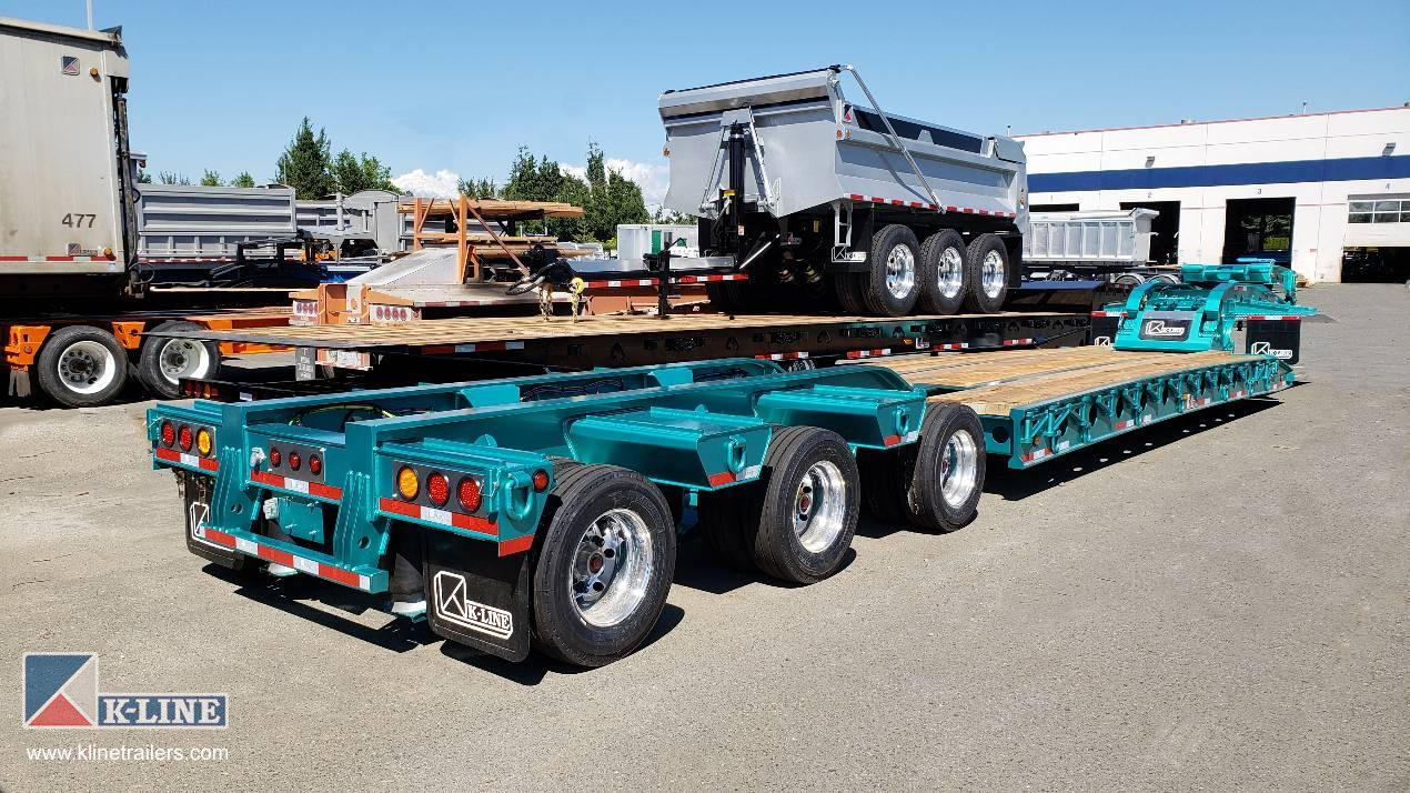 Multi Axle Trailers Heavy Haul on Booster Jeep Dollies