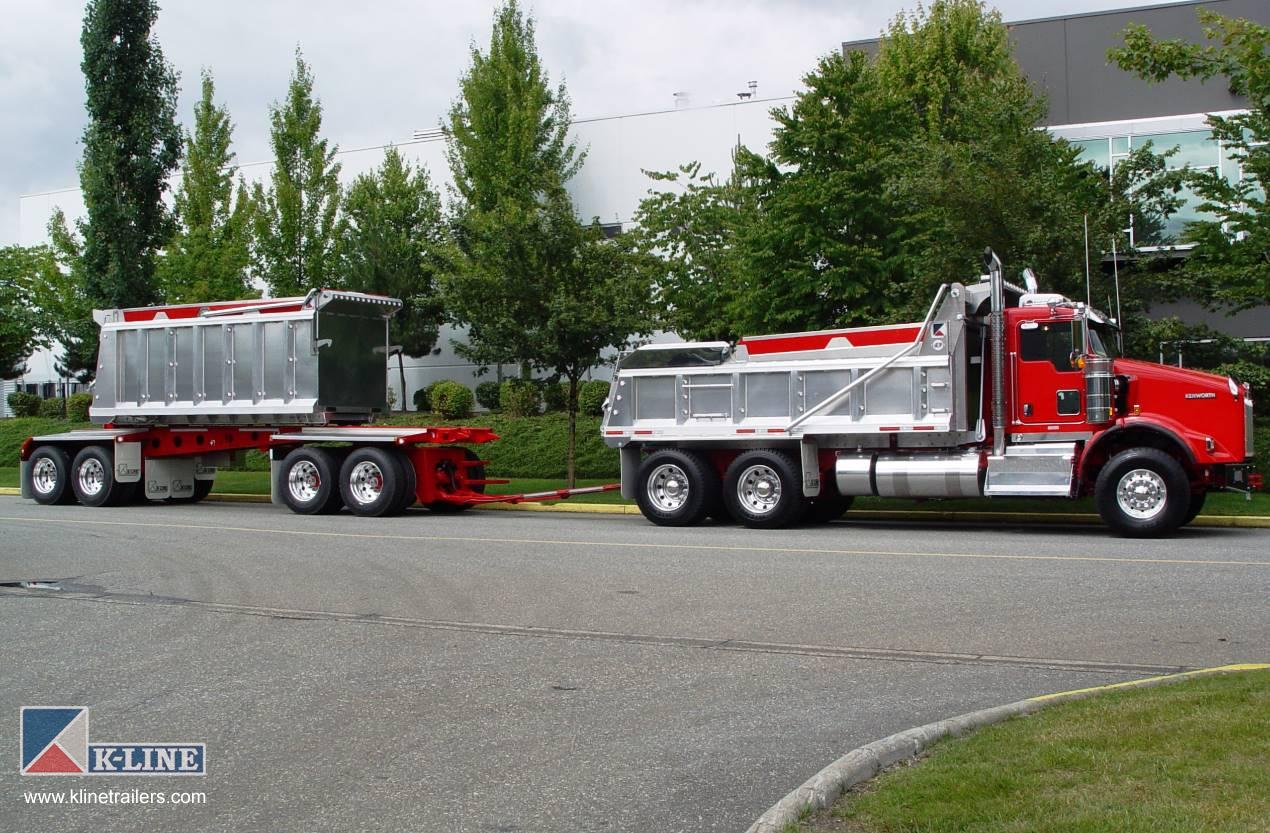 Truck Transfer Trailers | K-Line Trailers | Design ...Kenworth Dump Trucks For Sale In Bc
