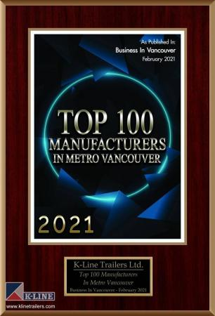 Business in Vancouver  releases its Top 100 Manufacturers List