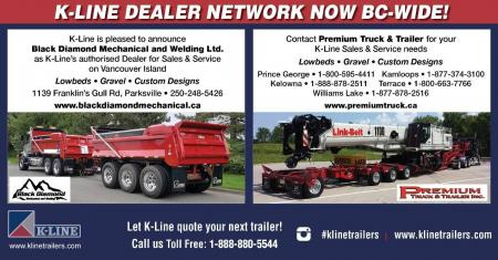 K-Line Dealer network Now BC-Wide!